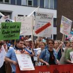 Demo der Wohlfahrtsverbände gegen geplante Kürzungen