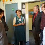 Fachpolitiker der Ratsfraktionen beim Besuch der Kath. Grundschule in Bilderstöckchen im Mai 2016